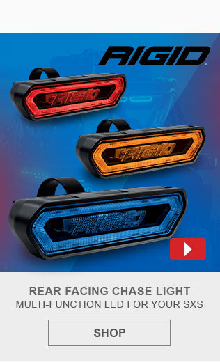 Rigid Industries Rear Facing Chase Light