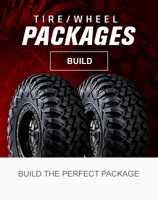 ATV and UTV Tire Wheel Package Builder