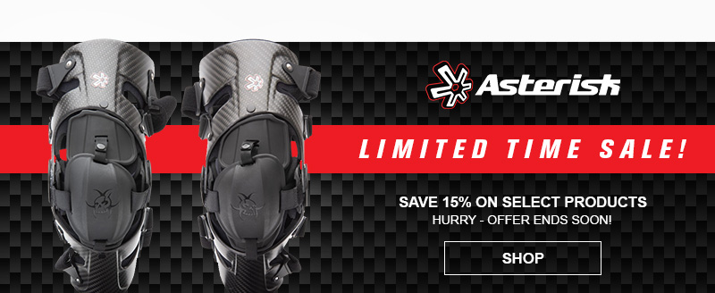 Asterisk Knee Brace Sale - Save up to 15% For A Limited Time