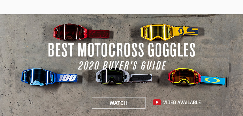 MX Goggle Buyers Guide