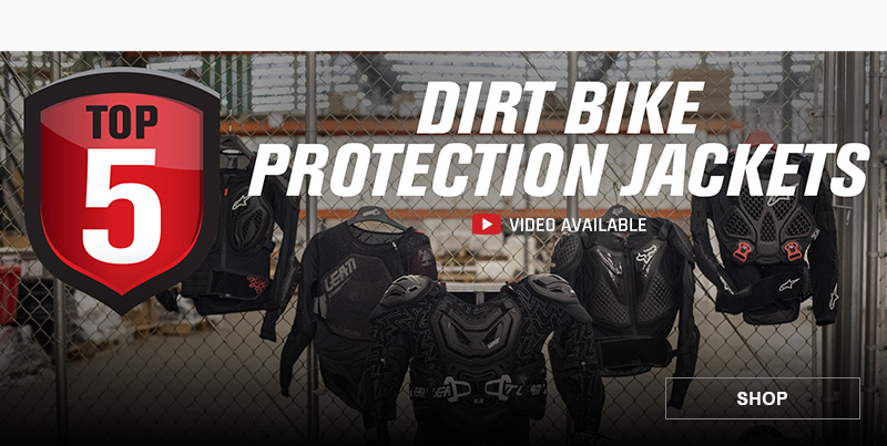 Top 5 Dirt Bike Protection Jackets