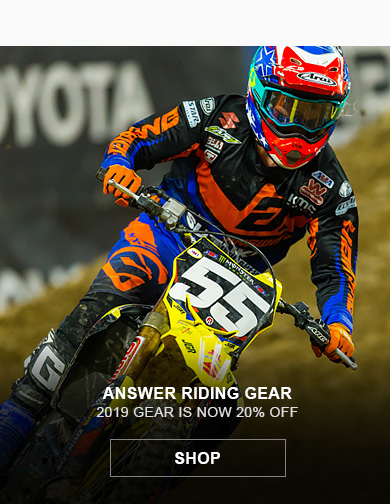 Answer Closeout MX Gear