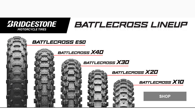 Bridgestone Battlecross Dirtbike Tires