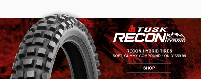 Tusk Recon Dirt Bike Tires