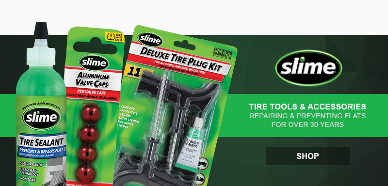 Slime Tire Tools and Accessories