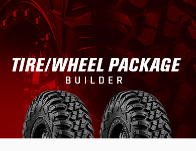 ATV and UTV Tire and Wheel Package Builder