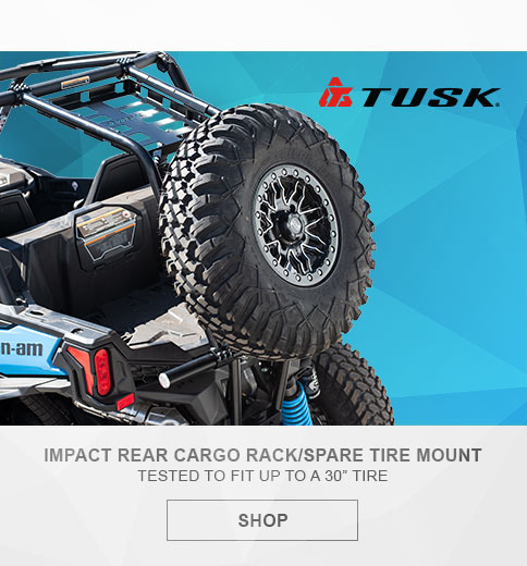 Tusk Cargo Rack and Tire Carrier