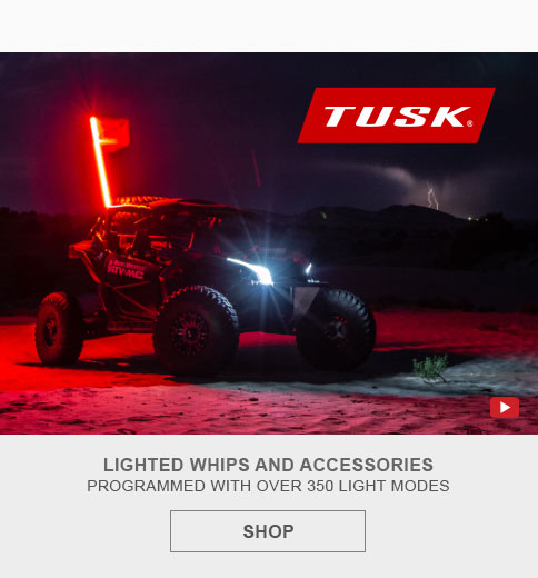Tusk Lighted Whips & Acc