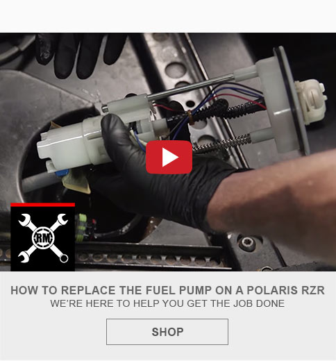 Replace fuel pump on rzr