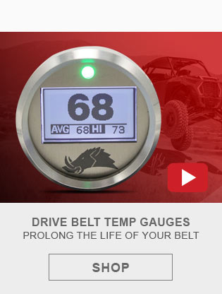 UTV Belt Temp Gauges