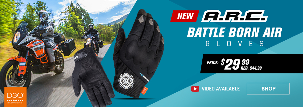 ARC Battle Born Air Gloves