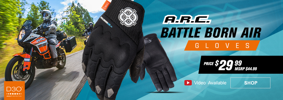A.R.C. Battle Born Air Gloves