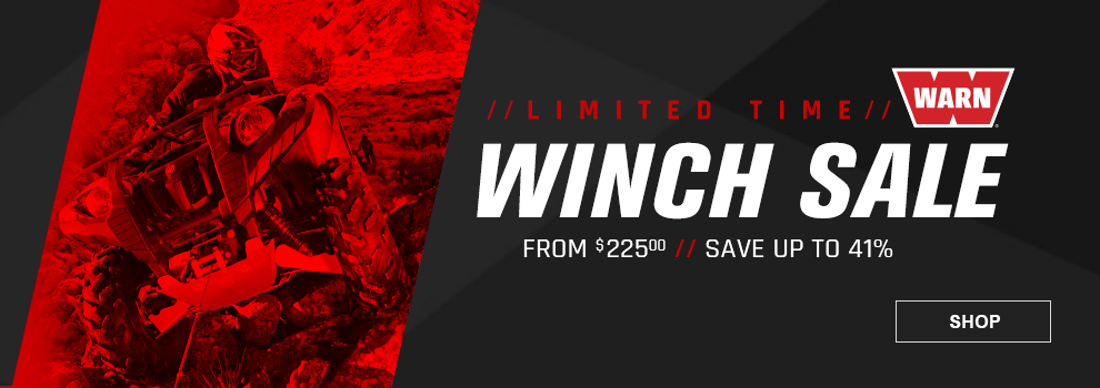 Warn Winch Sale