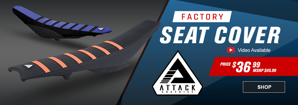 Attack Graphics Factory Seat Cover