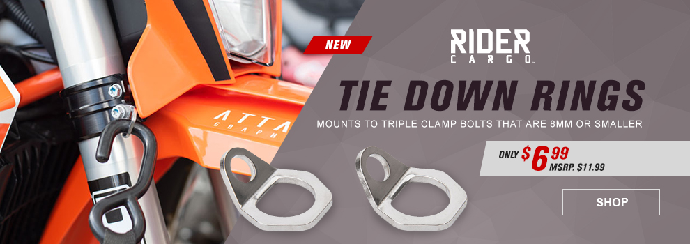 Rider Cargo Tie Down Rings