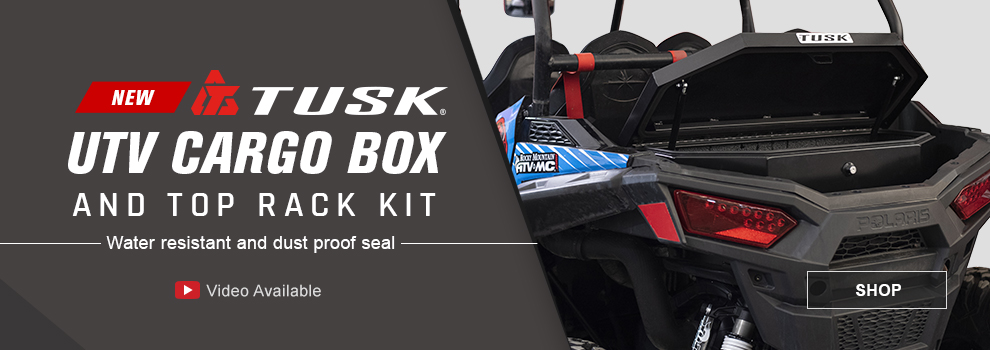 Tusk UTV Cargo Box & Top Rack Kit