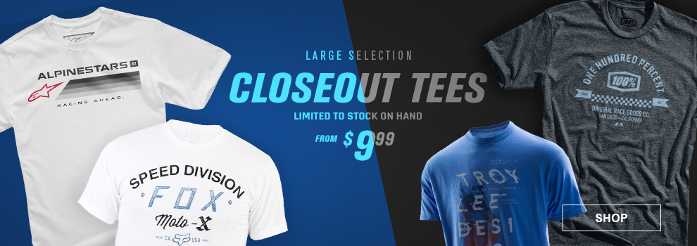 Closeout Tees