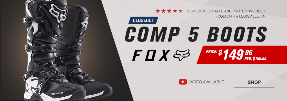 Fox Closeout Comp 5 Boots