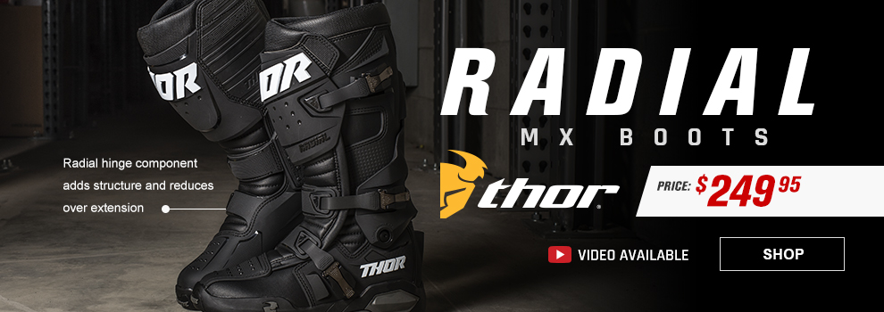 Thor Radial MX Dirt Bike Boots