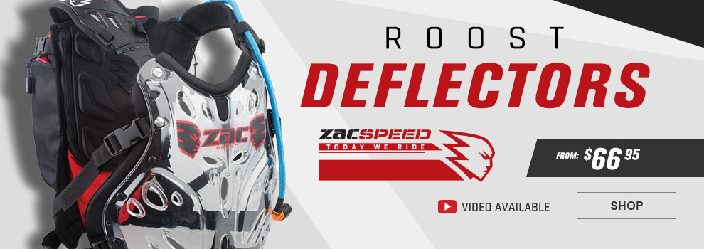 Zac Speed Roost Deflectors