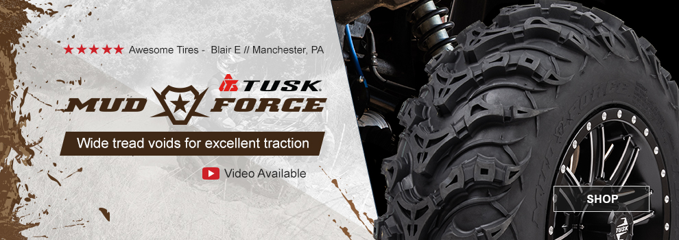 Tusk Mud Force Tires