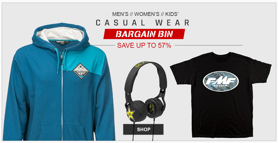 Casual Apparel Bargain Bin
