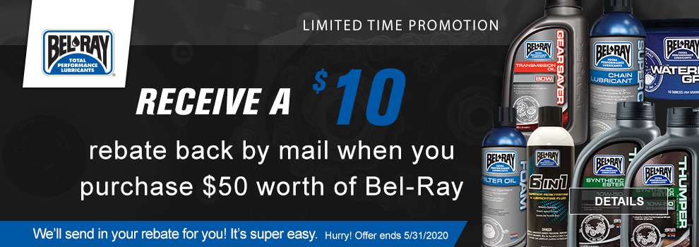 Bel-Ray Rebate Promotion
