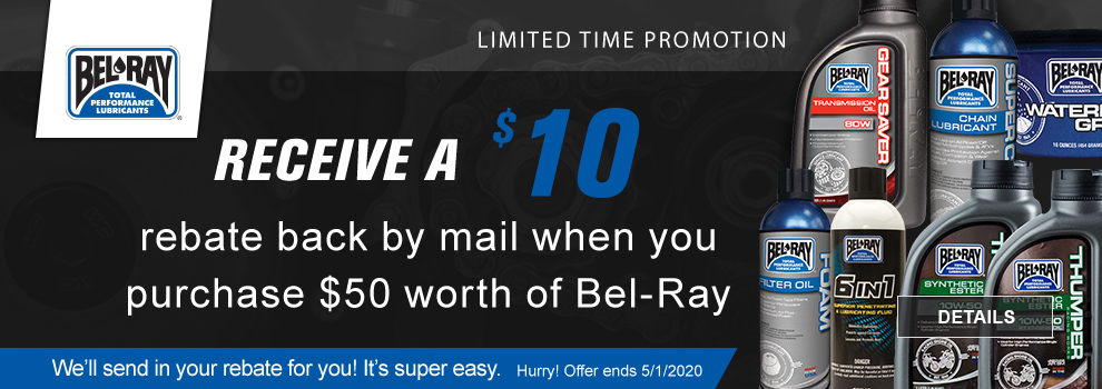 Bel-Ray April May 2020 Offer
