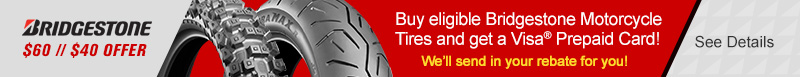 Bridgestone Mar-Apr Rebate 2019