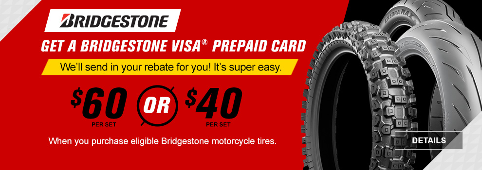 Bridgestone March Rebate