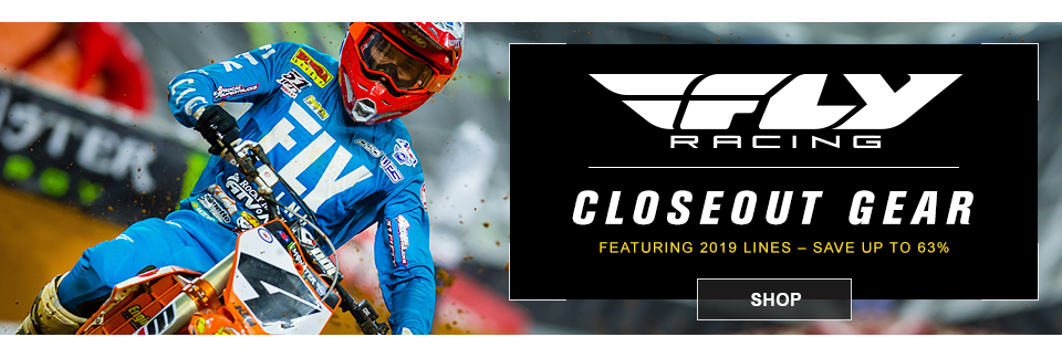 closeout fly mx gear