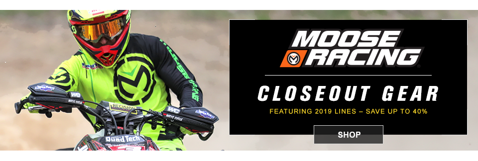 closeout moose mx gear