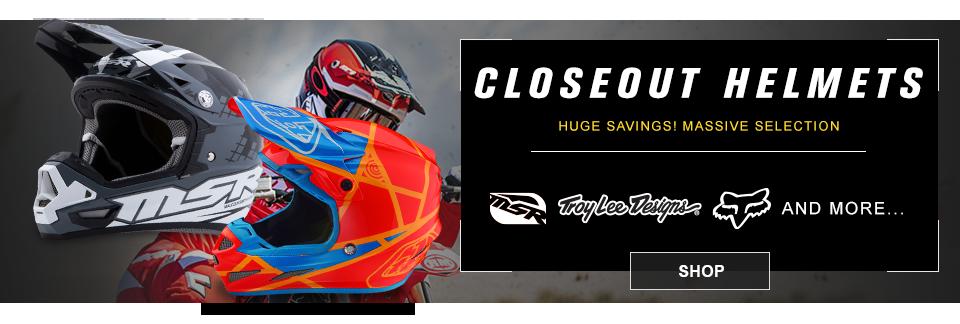 closeout mx helmets
