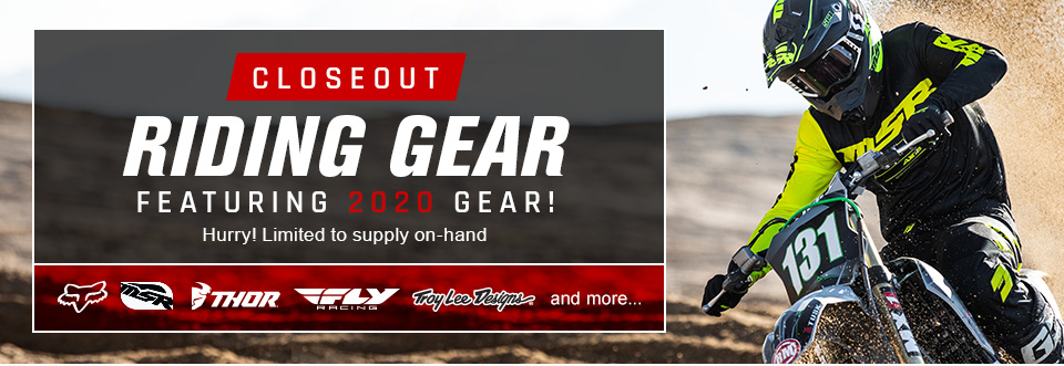 Closeout MX Gear