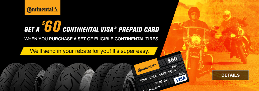 Continental Apr-Jun Rebate