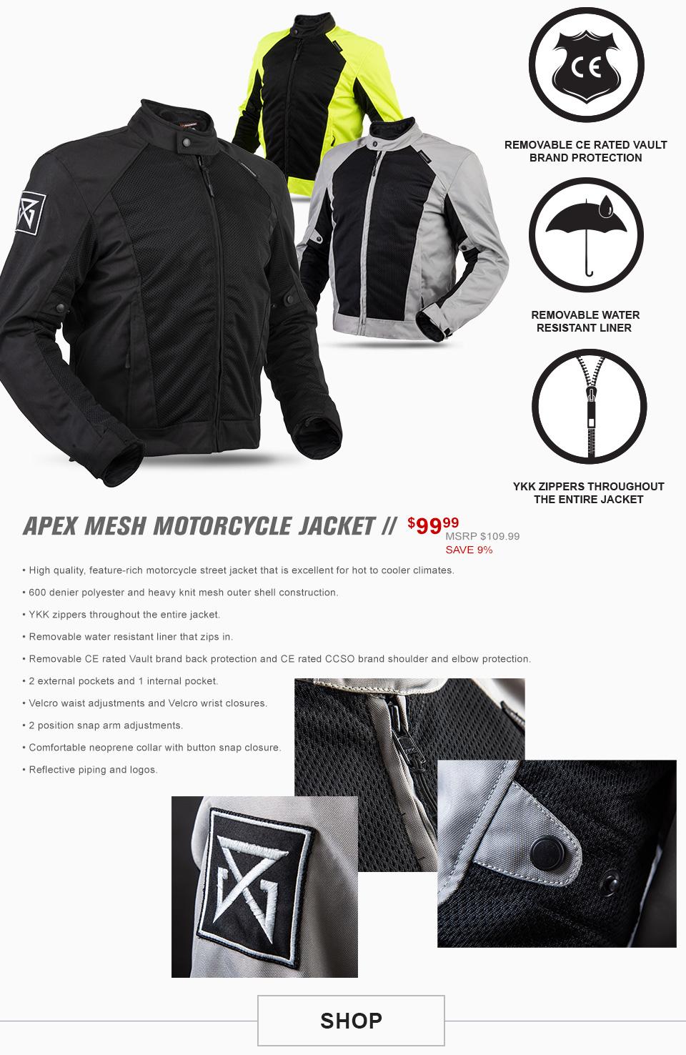 Apex Mesh Jacket