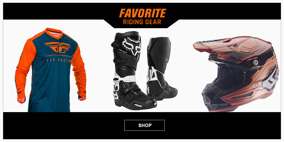 Favorite Riding Gear