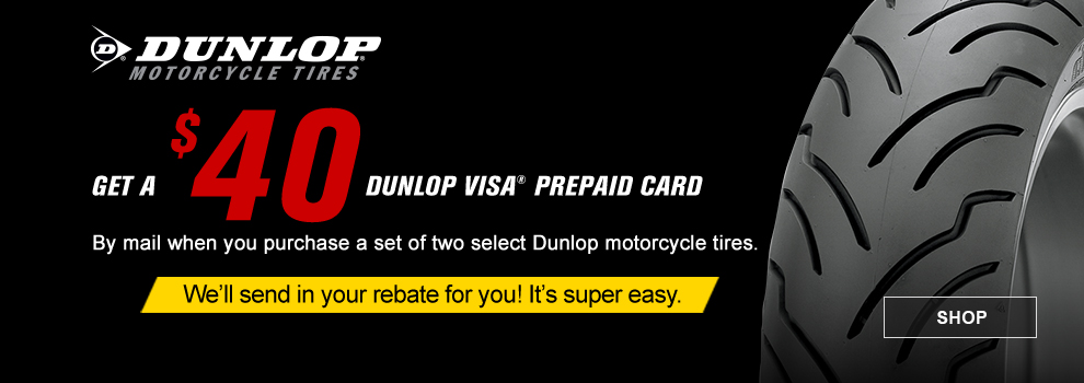 Dunlop May-June Rebate