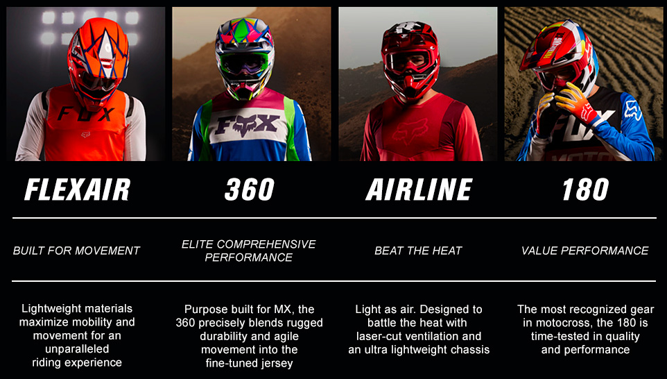 Fox gear sets