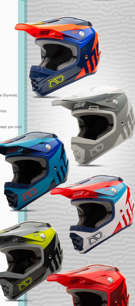 MSR Axxis Adult SC2 Helmets