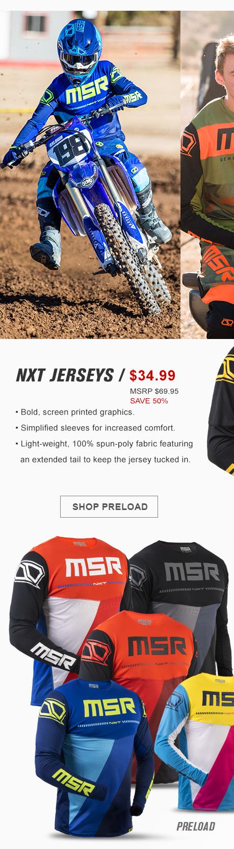 NXT Preload Jersey