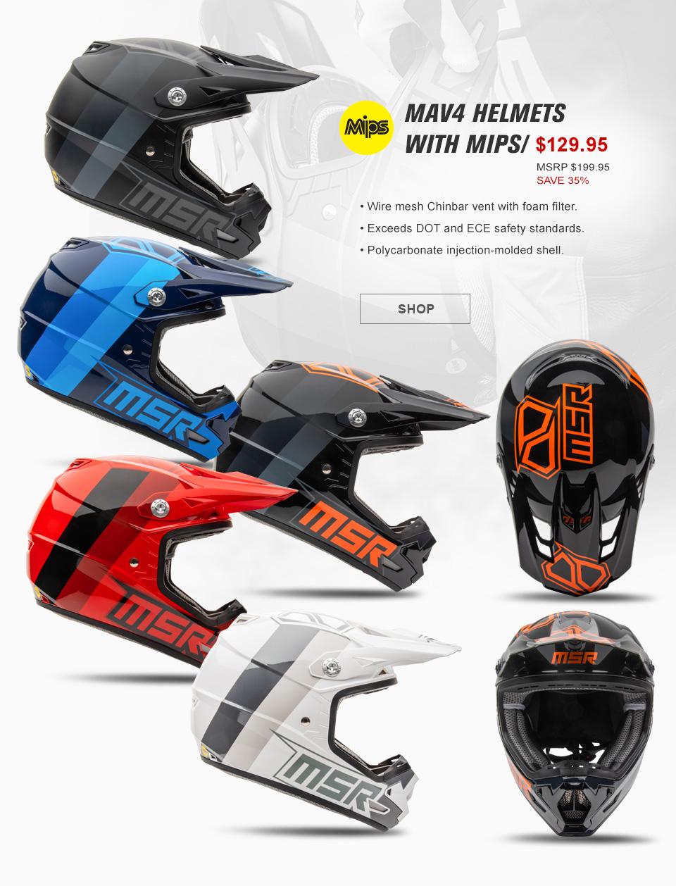 Mav 4 Helmets