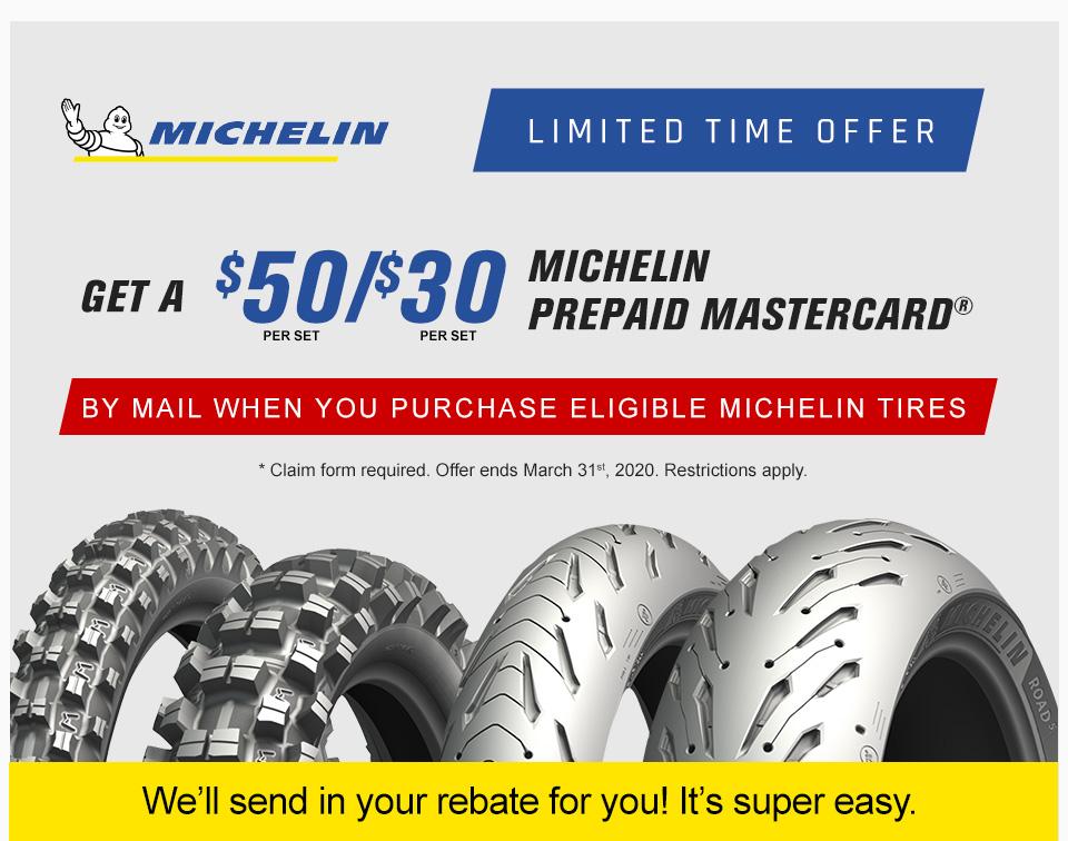 2020 Michelin March Rebate