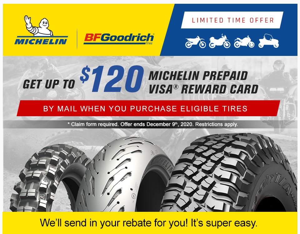 2020 Michelin November Rebate