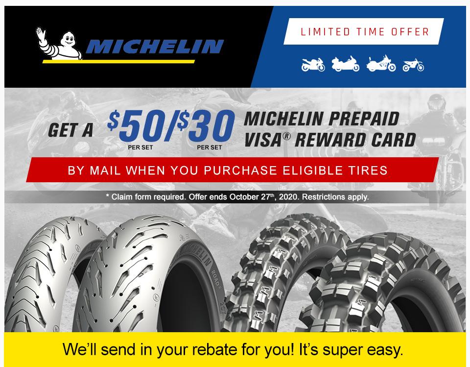 2020 Michelin Fall Rebate