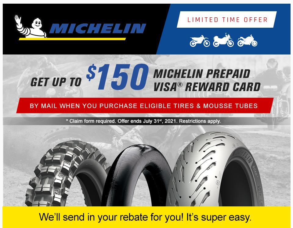 2021 Michelin Summer Rebate