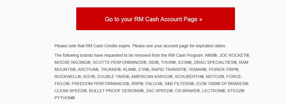 RM Account