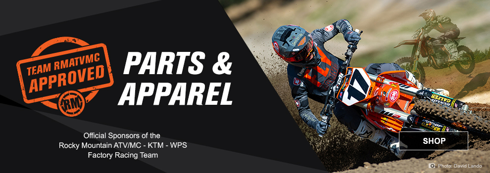 RMATV/MC SX Race Team Parts and Apparel
