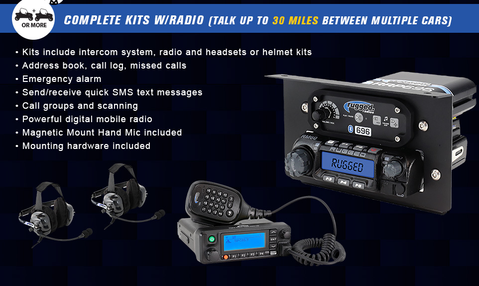 complete kits with radio