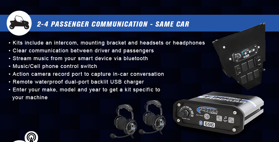 2-4 passenger communication